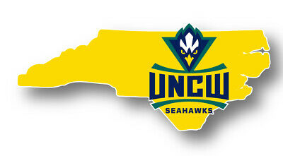UNC Wilmington Seahawks Logo State Magnet