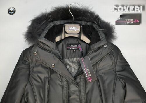 M medium Coveri Invernale Giaccone Misura Colore Antracite Cappotto Enrico CTw1xq0PZ