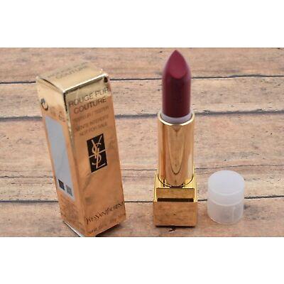YSL Yves Saint Laurent Rouge Pur Couture Lipstick Shades 1-73 Fullsize 3.8G