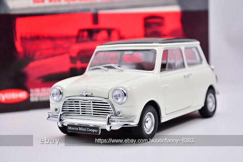 KYOSHO KYOSHO KYOSHO 1 18 MORRIS Mini Cooper 1959 White b44