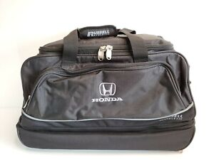Russell-Athletic-Honda-Travel-Bag-22-034-Rolling-Wheels-Pop-Out-Handle-Black-HTF