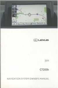 2011 lexus ct 200h navigation system owners manual 602693830591 ebay rh ebay co uk 2014 ct200h owners manual lexus ct200h owners manual uk
