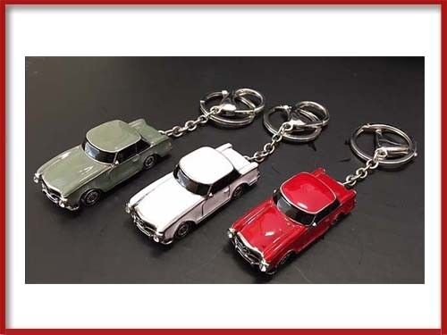 MERCEDES BENZ SL W113 KEY CHAIN RED LIMITED EDITION GIFT 280SL 230SL 250SL PARTS