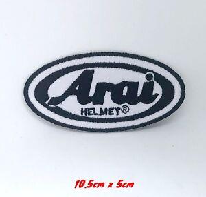 Arai Helmet Motorcycles Racing Biker Iron/Sew-on Embroidered Patch#200