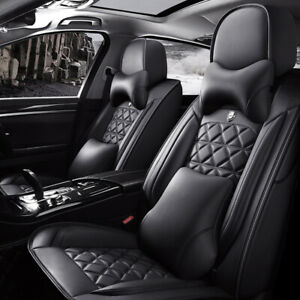 Luxury Auto Seat Covers for Front+Rear 5-Sit Full Set Cushions Car Accessories R