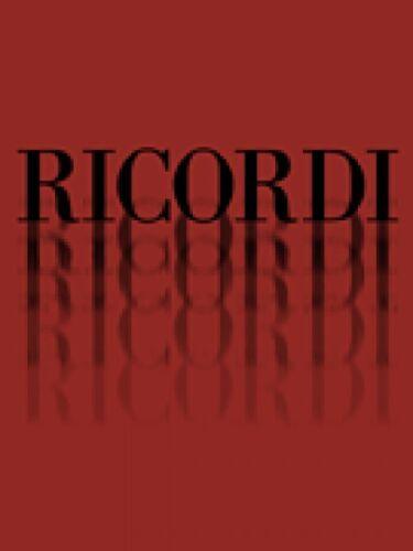 La fanciulla del west Puccini It Vocal Score NEW 050484639