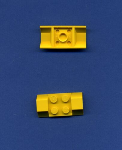 LEGO 3787 2 x 4 Garde-boue jaune Roue 2 pièces