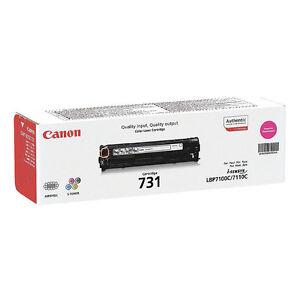Genuino-CANON-731m-731-6270b002-MAGENTA-CARTUCHO-DE-Toner-Impresora-laser