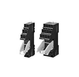 Omron 4 Pin Relay Socket, DIN Rail for use with MY Series General Purpose Relay