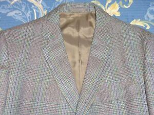 Unique Écossais Tweed 1960 S - 1970 S Suedehead Mod Veste 38 Pantalon 34 Vintage-afficher Le Titre D'origine