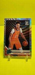 2019-20-Donruss-Optic-Cameron-Johnson-Silver-Wave-Rated-Rookie-Phoenix-Suns