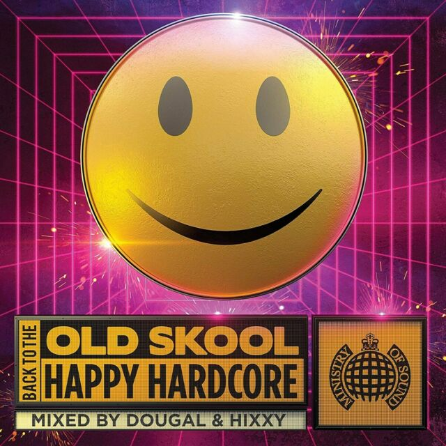 Back To The Old Skool Happy Hardcore - Various Artists [CD]