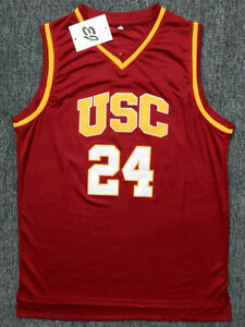 lowest price f848a b56cf Details about Brian Scalabrine #24 USC Trojans College Throwback Basketball  Jersey Stitched