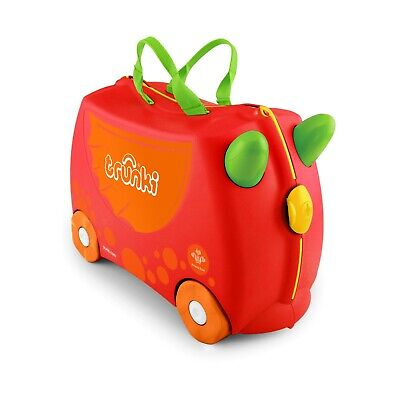 Exclusive Trunki Suitcase - Charlie the Dragon - The Prince's Trust Charity