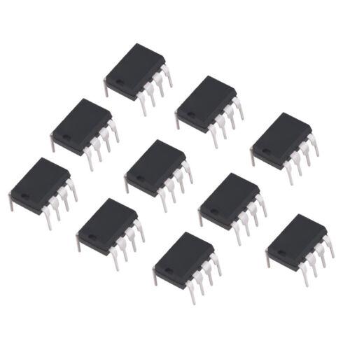 10x NE555 NE555P NE555N DIP8 High Precision Oscillator IC Chip Timer Z1B5 T E8G5