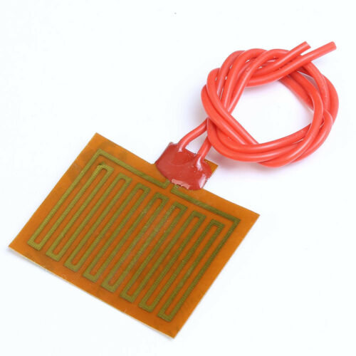 4Pcs 5V 1W Flexible Polyimide Heater Plate Adhesive PI Heating Film 30mmx40mm