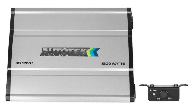 NEW SS25004 Autotek Super Sport Amplifier 2500 Watt 4 Channel