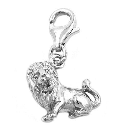 estrella caracteres león señoras plata colgante Colgante einhänger Charms 925 plata