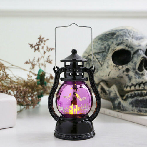Halloween Props LED Lamp Lantern Light Party Decor Hanging Home Party Bar