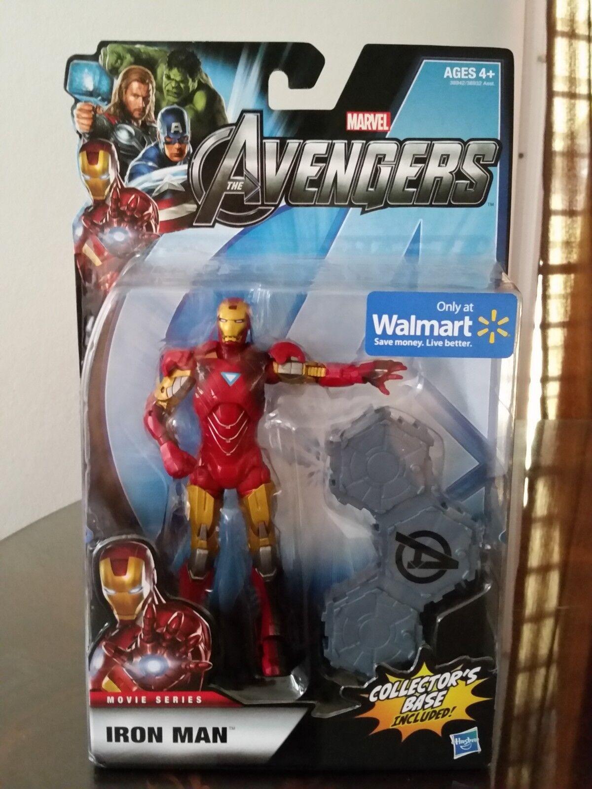 Iron man mark vi marvel die avengers actionfigur hasbro walmart exklusiv