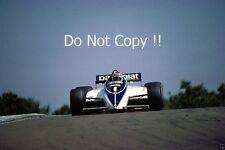 Nelson Piquet Brabham BT50 Swiss Grand Prix 1982 Photograph 2
