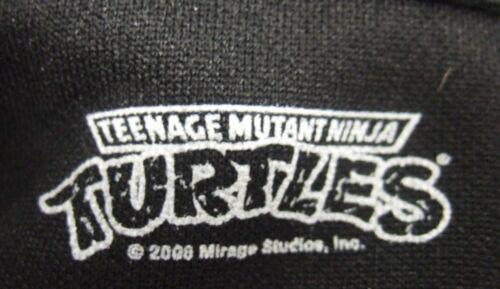 NWT MENS Med TEENAGE MUTANT NINJA TURTLES POWER BLACK GREEN STRIPES TRACK JACKET