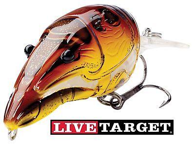 Koppers Live Target Crawfish crankbait. Medium Diver bass fishng lures