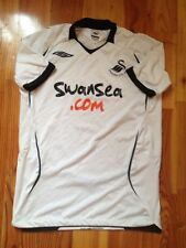 4.9/5 SWANSEA CITY AFC ORIGINAL FOOTBALL SOCCER HOME JERSEY SHIRT UMBRO