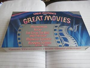 GREAT MOMENTS FROM GREAT MOVIES , VHS , Philipp Morris