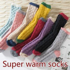 Calze in cashmere estremamente accoglienti da donna inverno caldo