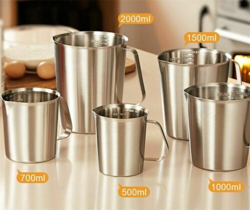 304  Measuring Cup with Inner Scale Design Kitchen Scale Cup Liqu