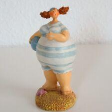 Inware Dicke Frau mit Muschel 20 cm Dickmadame Strandserie Stehende Figur 2449