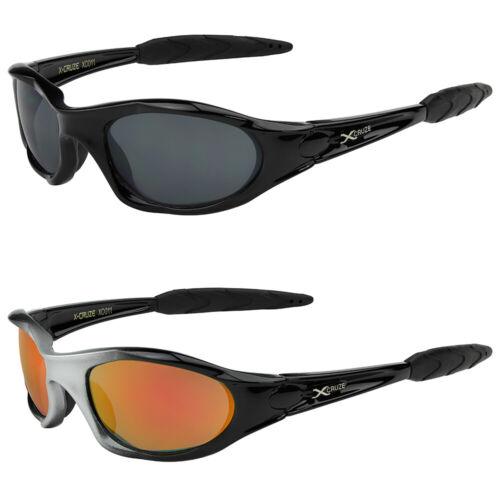 2er Pack X-CRUZE® Fahrradbrille Rad Sonnenbrille Brille Herren Damen schwarz rot