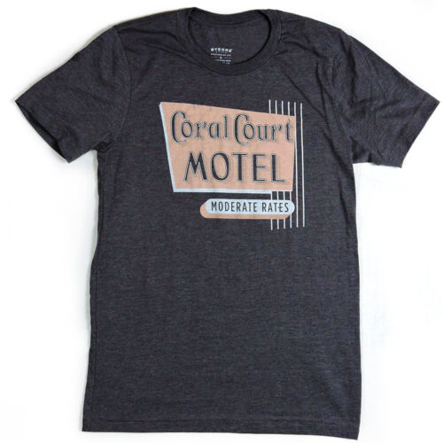 Coral Court Motel T-shirt Louis Bygone Brand Retro Tees St