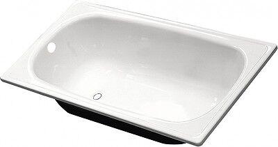 FERRO Steel Bath 100 x 70 HIGH QUALITY COMES WITH LEGS Small Steel Bath 1050x700