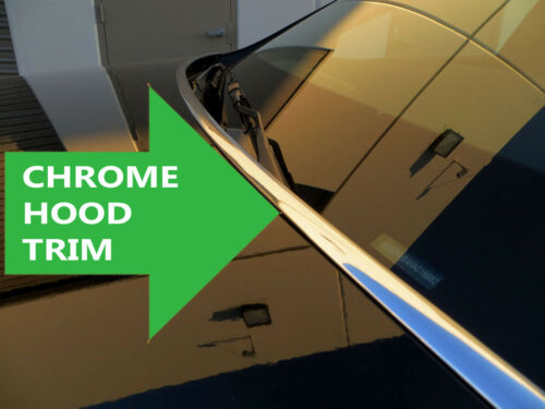 Chrome Hood Trim Molding Accent Kit for dodge models 2002-2010