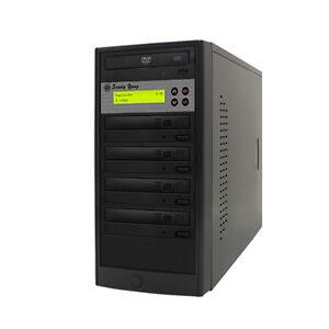 1-4 24X Burner CD DVD Duplicator Multiple Media Disc Drive Copier