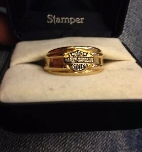 Harley Davidson Wedding Rings.Details About Nib Harley Davidson Ring Wedding Band Choose Size 8 11 12 Men S Womans