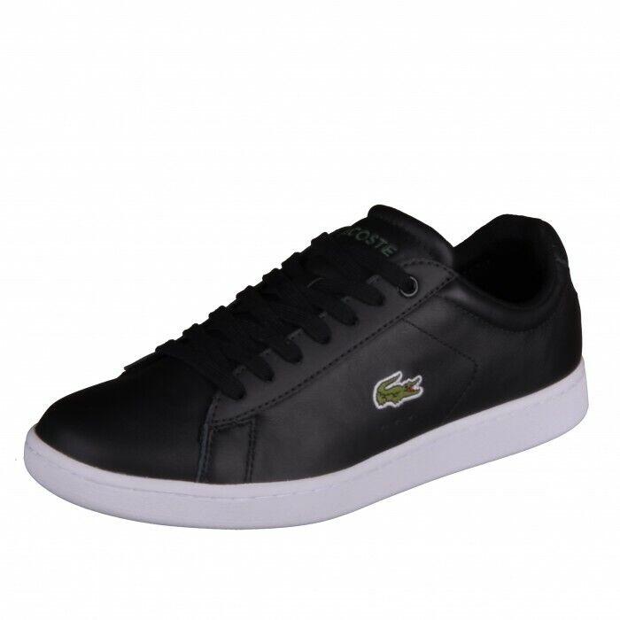 Lacoste Carnaby Evo Lcr Spm blk Shoes Trainers Shoe Black Blk 7-31SPM0095024