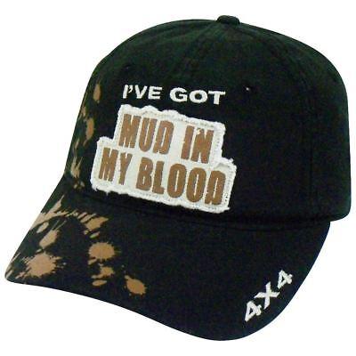 I've Got Mud In My Blood Lkw 4x4 Verstellbar Schwarz Mütze H3 Sportsgear Mit Dem Besten Service Weitere Ballsportarten