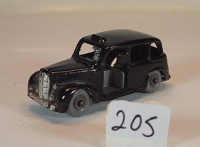 Budge MORESTONE environ 1 66 Nº 13 Austin cab berline taxi noir  205