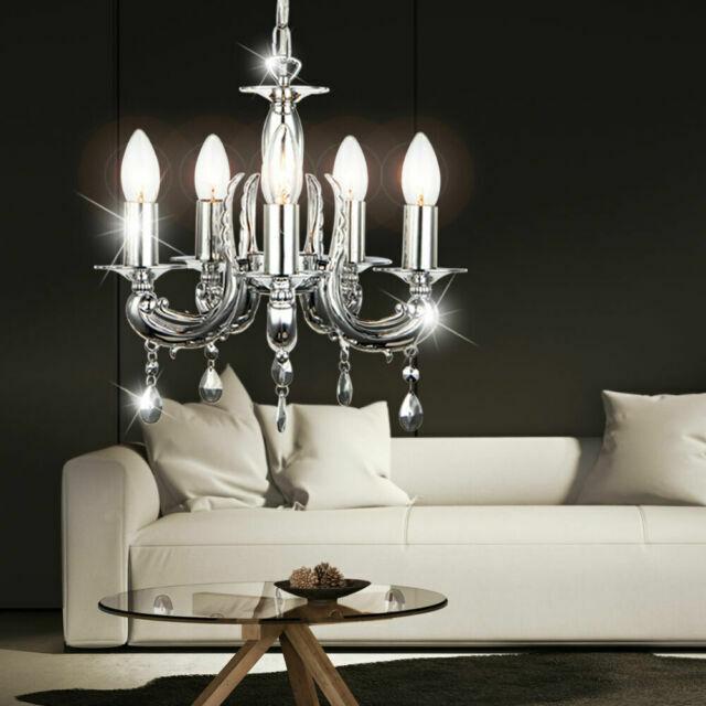 Slide New Modern LED Chandeliers Lights For Living Room