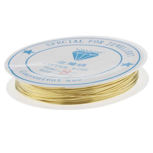 0.8mm Copper Metal Wire for Jewelry Finding Beading Thread DIY Copper String