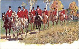 Jagd, Jäger, Pferde, um 1910/20 - Deutschland - Jagd, Jäger, Pferde, um 1910/20 - Deutschland