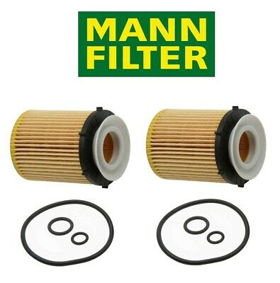 OEM Mann Set of 5 Engine Oil Filters For Mercedes W205 C117 X156 S213 X253 C253