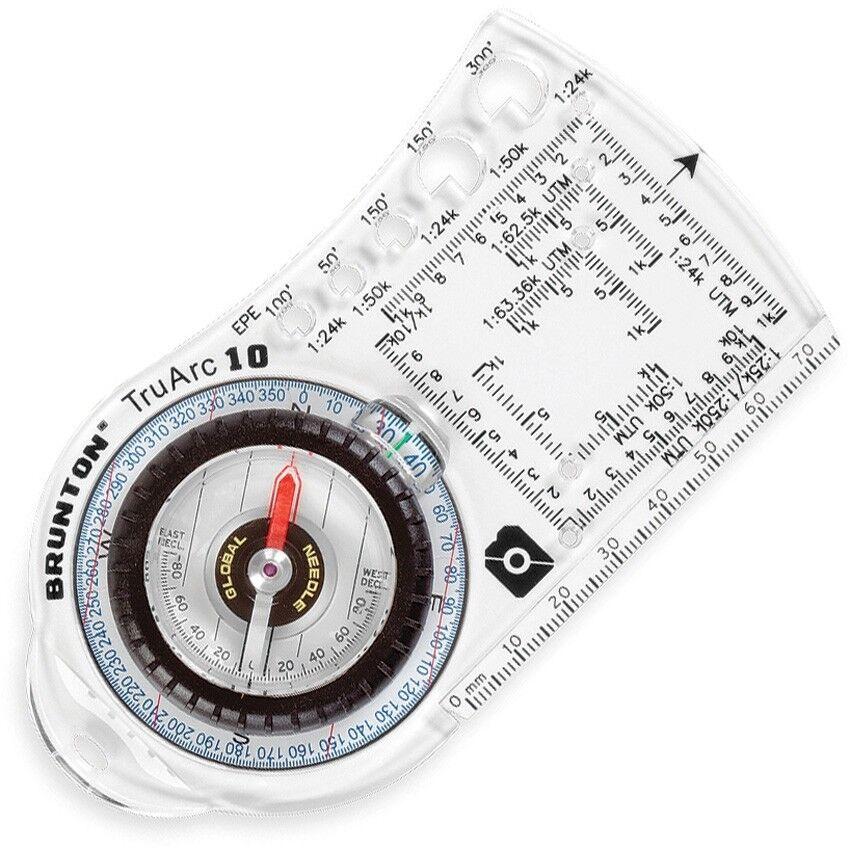 Brunton TruArc10  Base Plate Compass Navigation Made in USA BN91705  honest service