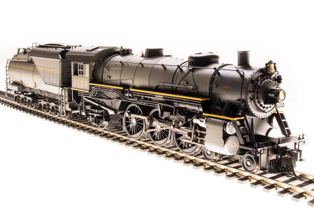 HO Scale BALTIMORE /& OHIO 2-8-2 DCC READY Mikado Steam Locomotive IHC New 27021