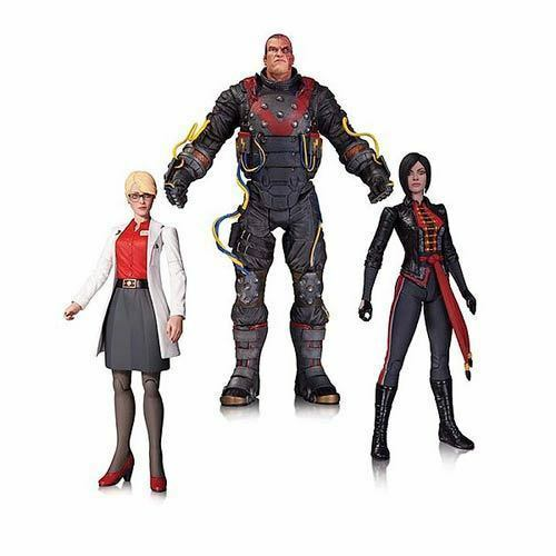Bathomme Arkham Origins Electrocutioner, Harleen Quinzel, Lady Shiva  Action Figure  remise