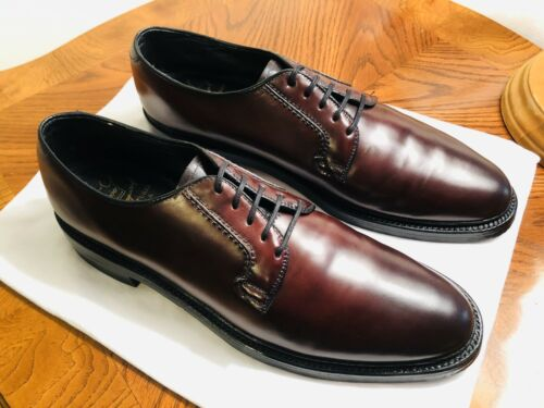 Details about  /Vintage Hanover L.B Sheppard Plain Toe Derbys Made in USA Men/'s 9.5AA Narrow