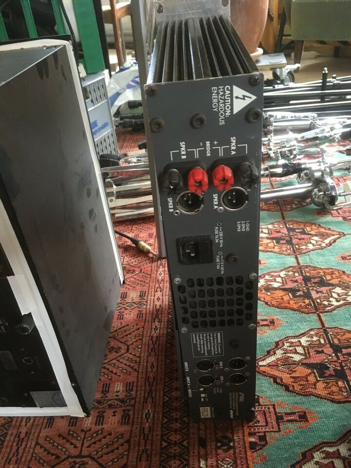 forstærker, efekt elektronik ep 800
